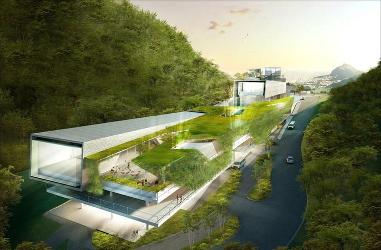 Concurso nacional del complejo hotel paineiras r o de for Arquitectura de hoteles
