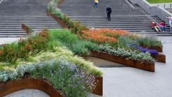 El jardín que trepa los peldaños / Balmori Associates