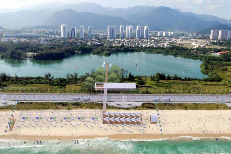 Playa Olímpica © LUMO Arquitetos