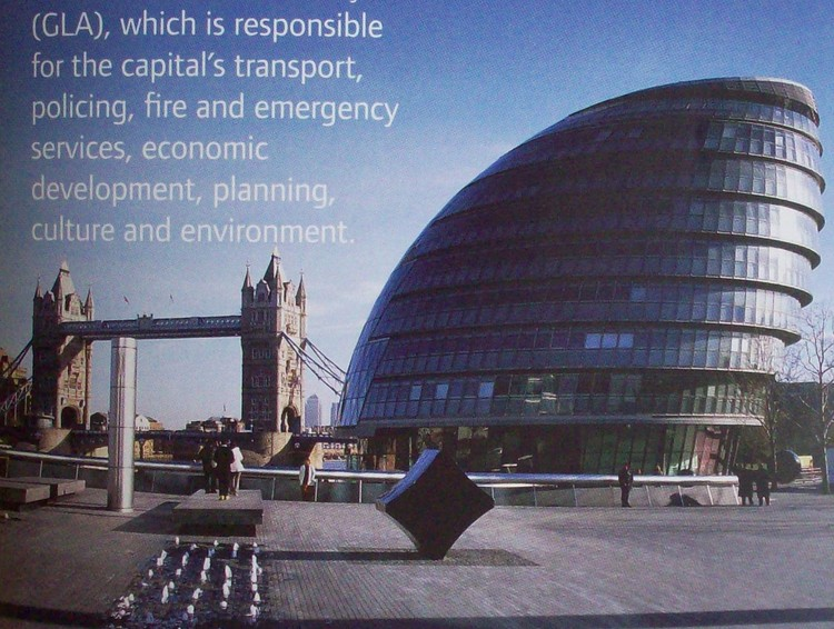 City Hall / Fuente Great London Authority GLA
