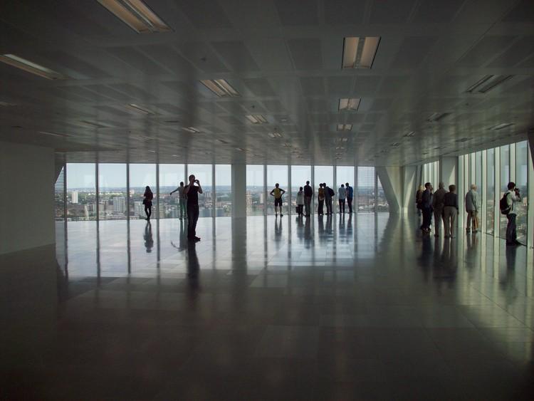 Interior Broadgate Tower / Foto por Javier Vergara Petrescu