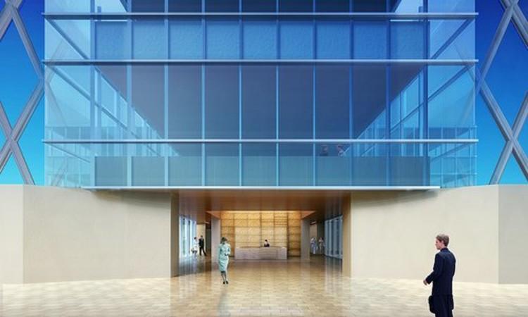 Render edificio administrativo