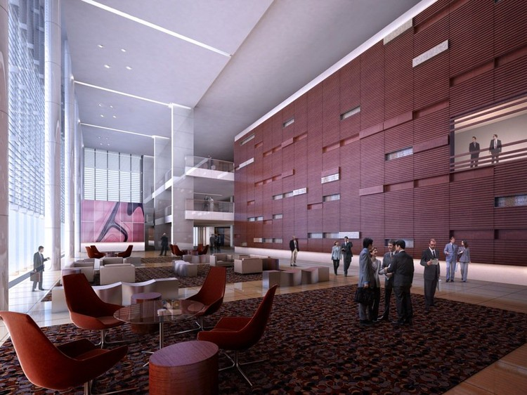 Render lobby auditorio