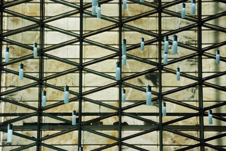 Detalle chandelier de la Biblioteca © 2009 J.B. Picoulet – S. Lourié