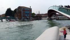 Nueva polémica por el puente de Calatrava en Venecia