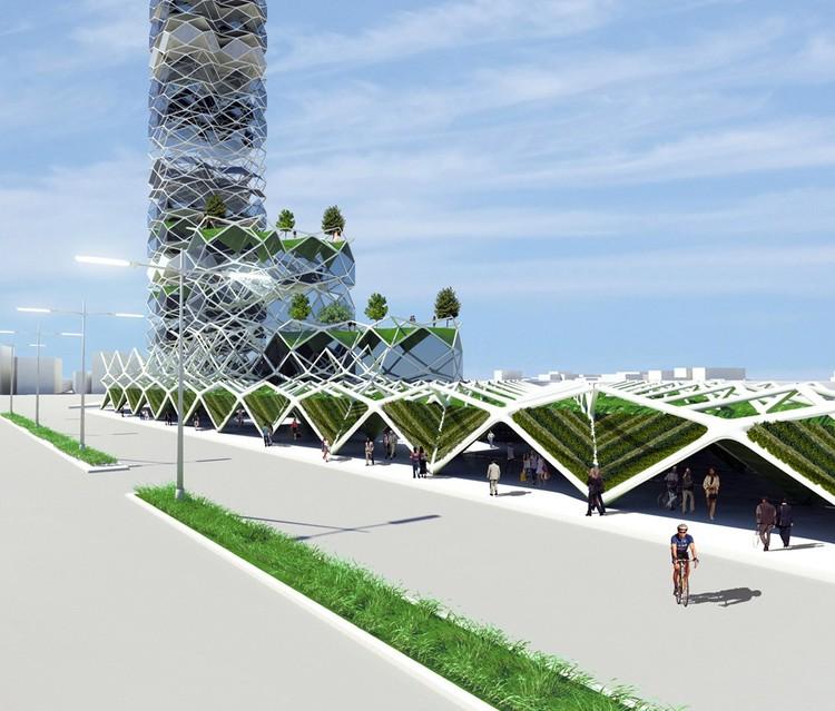 Vertical Park / Jorge Hernandez de la Garza
