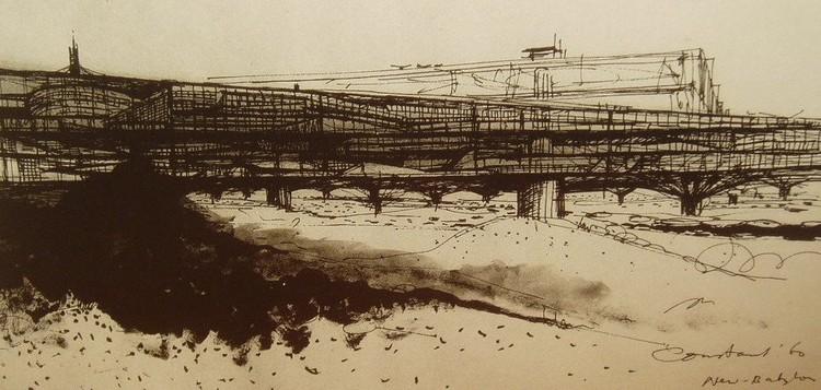 Vista de un sector, 1960