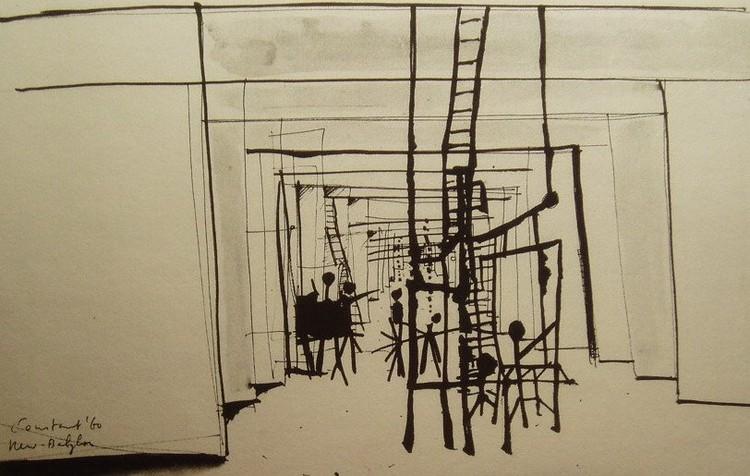 Interior de New Babylon, 1960