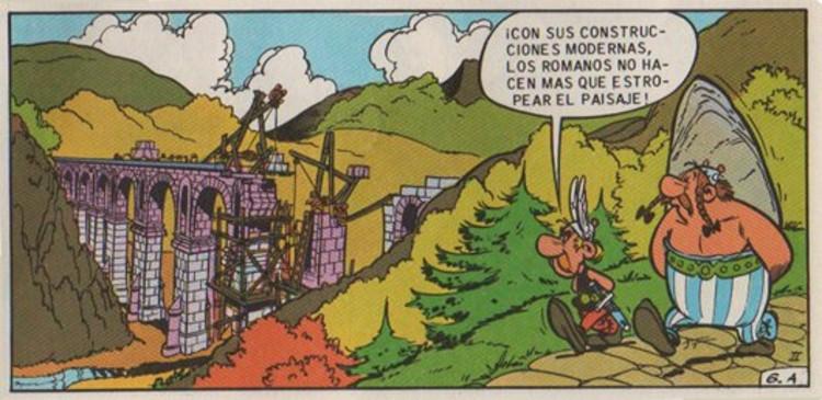 Asterix, La Hoz de Oro, Uderzo & Goscinny 1962