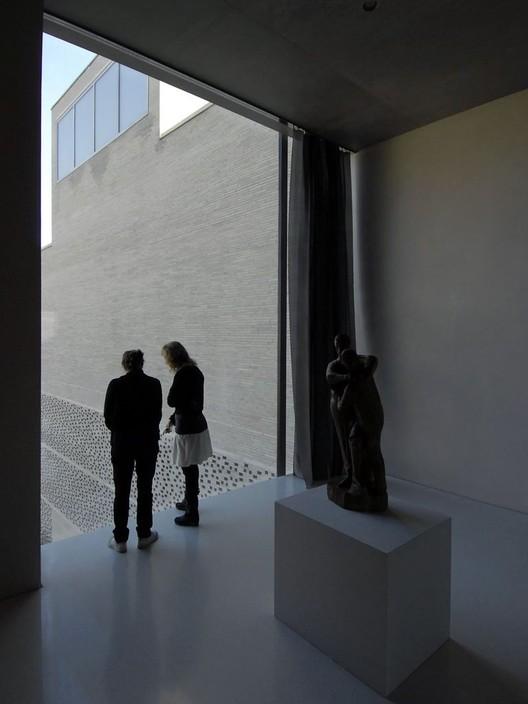 Interior del museo de arte