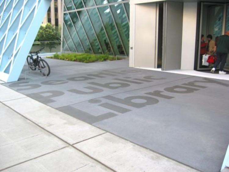 Señaletica Biblioteca Central de Seattle