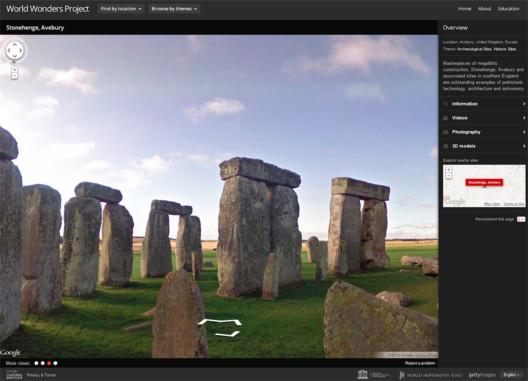 Stonehenge, Avebury : Screenshot via World Wonders Project