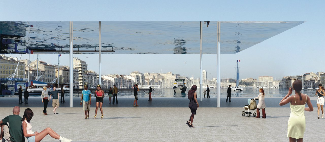 Masterplan for marseille s vieux port foster partners archdaily - Club house vieux port marseille ...