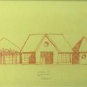 Sketch of Scheme B by Michael Graves © Michael Graves & Associates