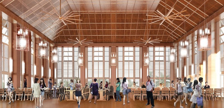 Yale NUS College Campus Pelli Clarke Pelli Architects
