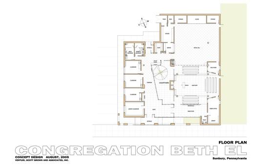 Congregation Beth El plan