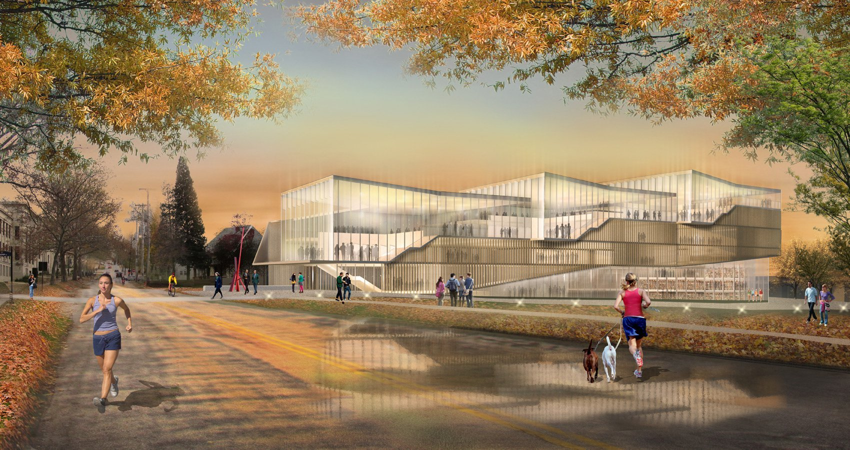 Gallery of WEISS / MANFREDI to Design Kent State's New ...