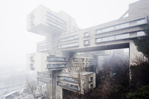 Ministry of Highways, 1974, Tbilisi, Georgia © Simona Rota