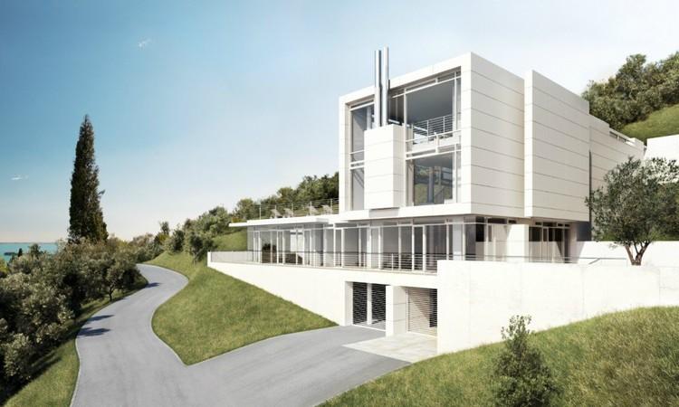 Villa Gardone / Richard Meier & Partners