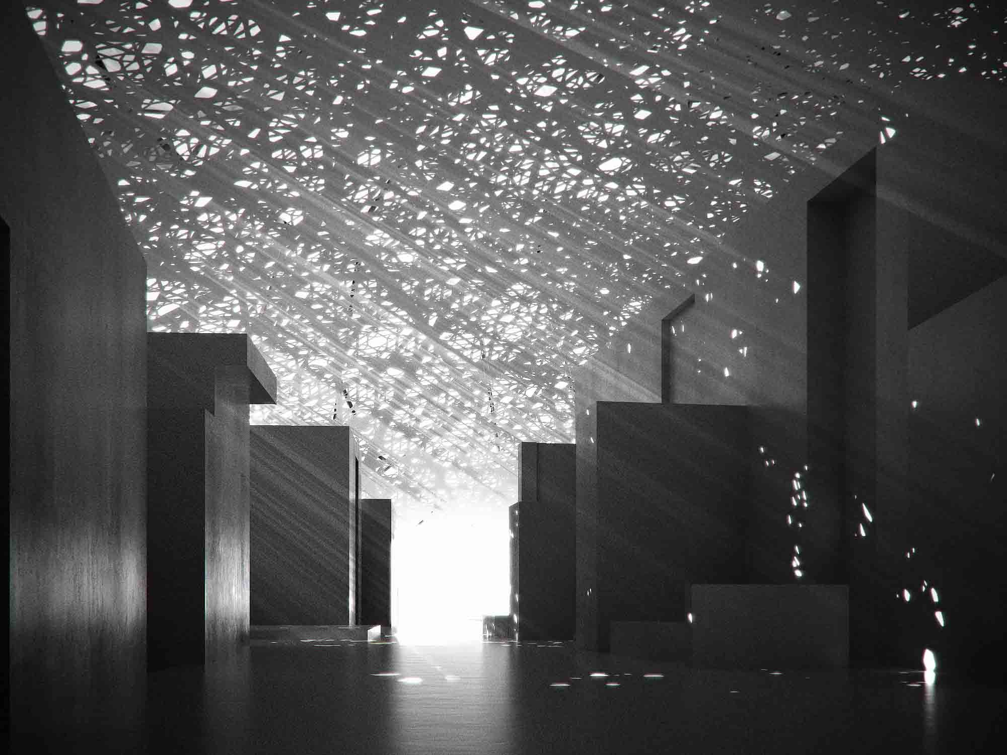Gallery of the louvre abu dhabi museum ateliers jean for Architecture jean nouvel