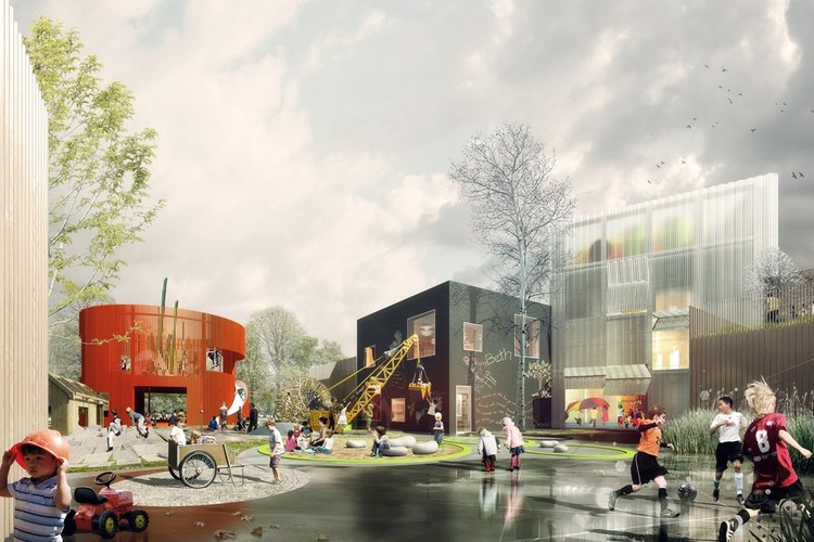 Courtesy of COBE, NORD Architects, PK3 and Grontmij
