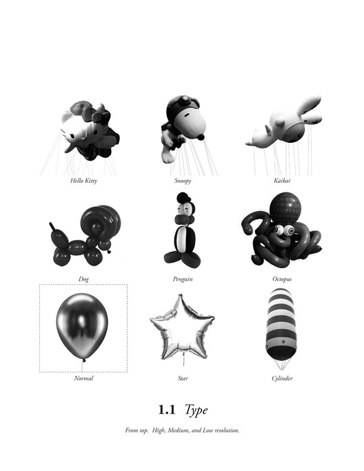 Catalog of Balloon Types