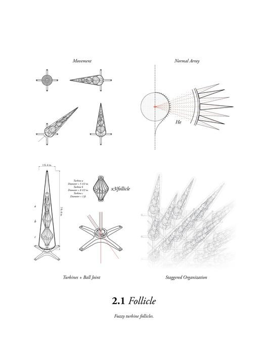 Patent Drawing Turbine Follicle
