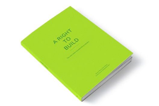 Alistair Parvin in collaboration with the University of Sheffield for the publication 'A Right to Build'.
