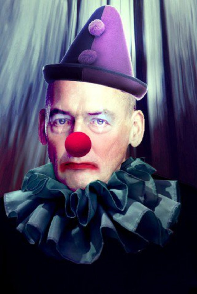 Rem as Pagliacci © Building Satire