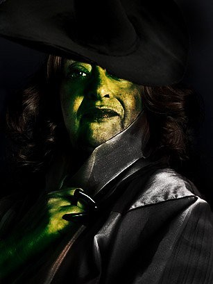 Zaha as Elphaba © Building Satire