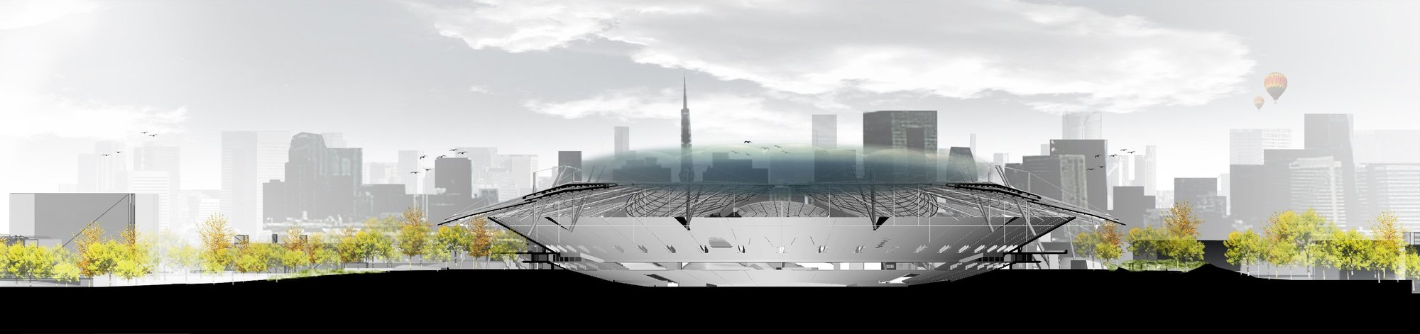 Gallery Of Japan National Stadium Competition Entry