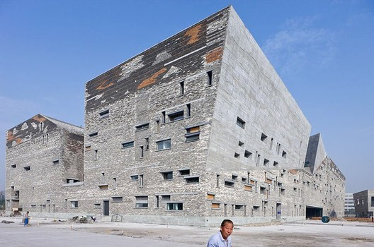 Ningbo Museum of Art © Iwan Baan