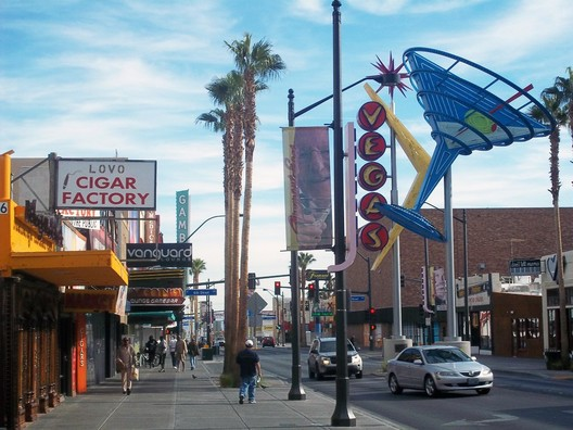 Downtown Las Vegas; Courtesy of Flickr user Time_Anchor