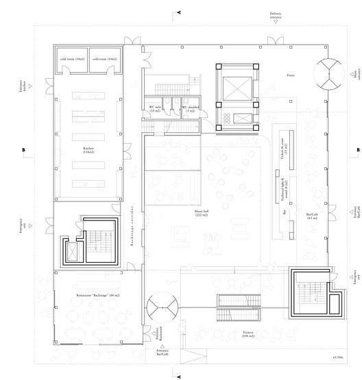 ground level plan