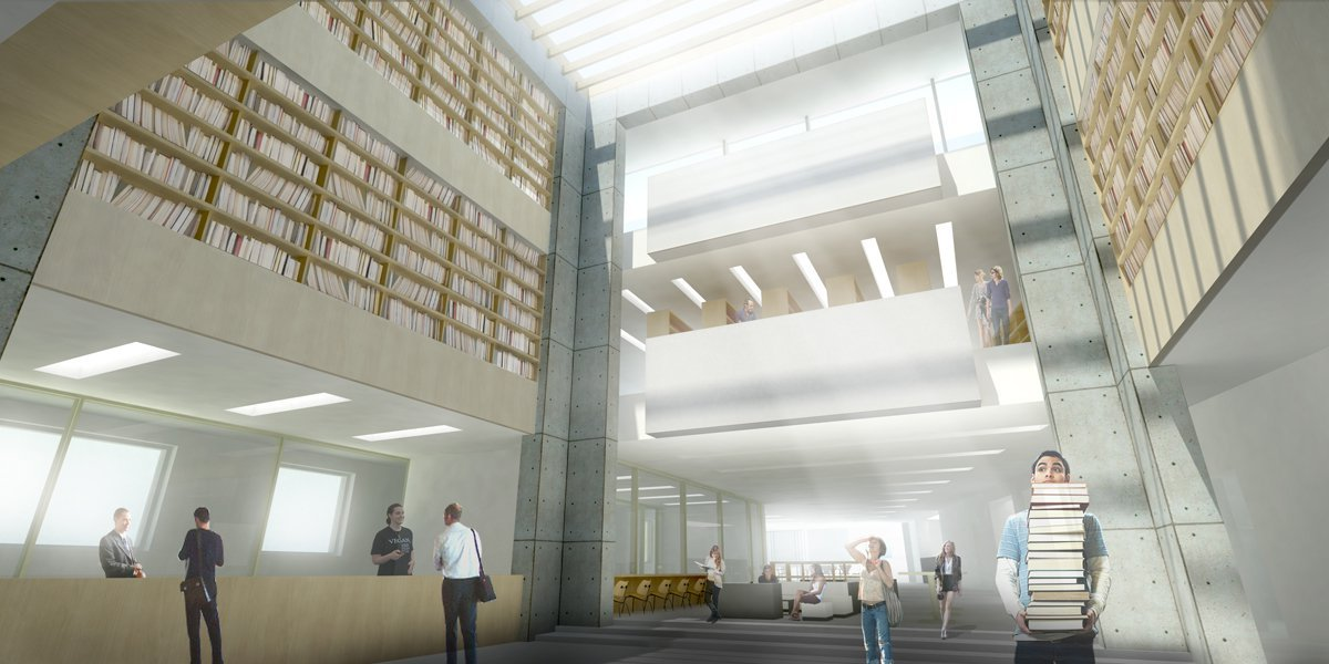 Gallery of Green Square Library & Plaza Design Competition ...