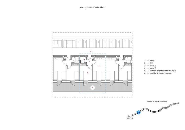 dormitory rooms plan