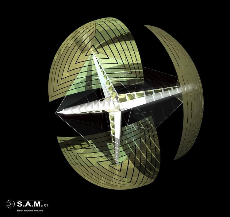 Project : S.A.M. (Station Autonome Modulaire) by Teïva Bodereau / Cédric Bodereau