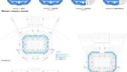 Sports Hall Competition Entry / Studio EL