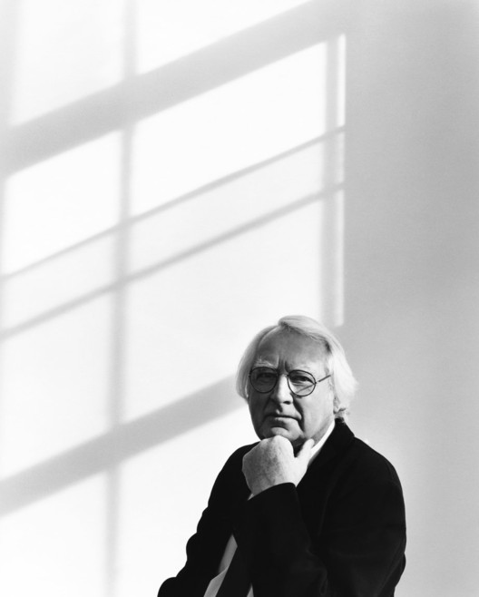 Richard Meier Portrait-475 10th Avenue Office © Richard Phibbs