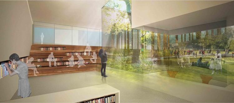 community library / © Irad Shomroni and Josef Shushan