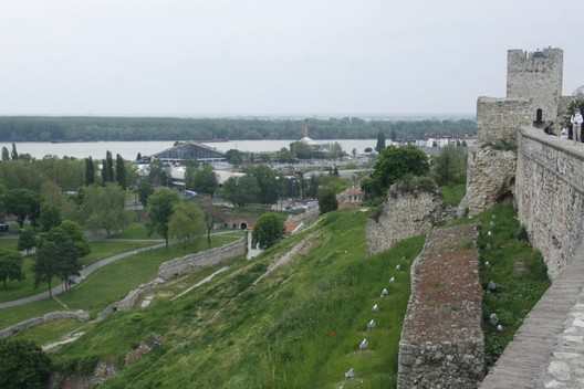 Existing Site, Courtesy of Belgrade Design Week