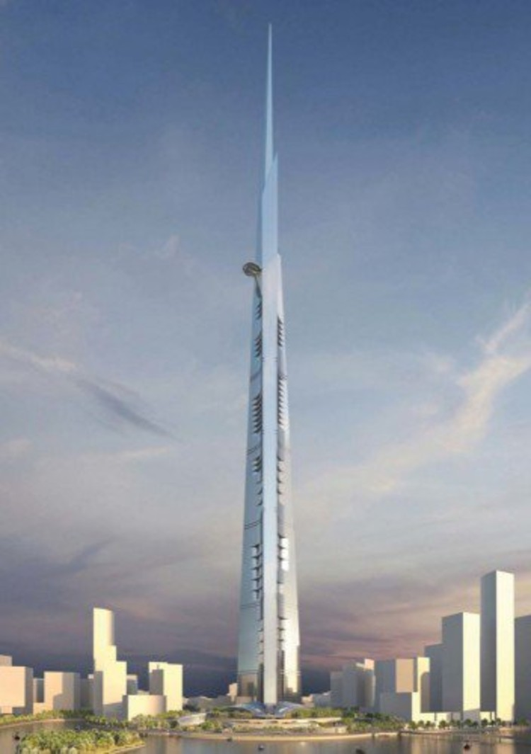 Kingdom Tower © Adrian Smith + Gordon Gill Architecture