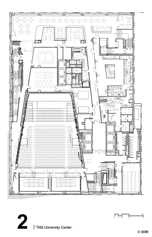 Level 2 Floor Plan © SOM
