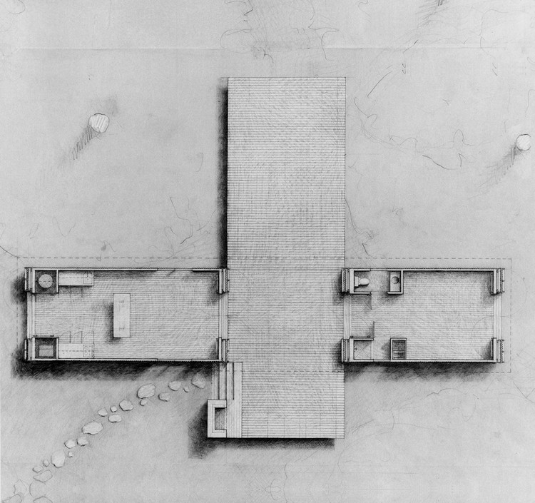 Plan; © Stephen Atkinson Architecture