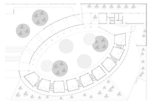 ground floor plan - classrooms