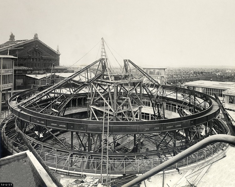 Album de la construction, 1912 © Archives Galeries Lafayette