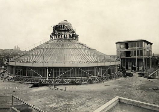 Album de la construction, 1912 © Archives Galeries Lafayette