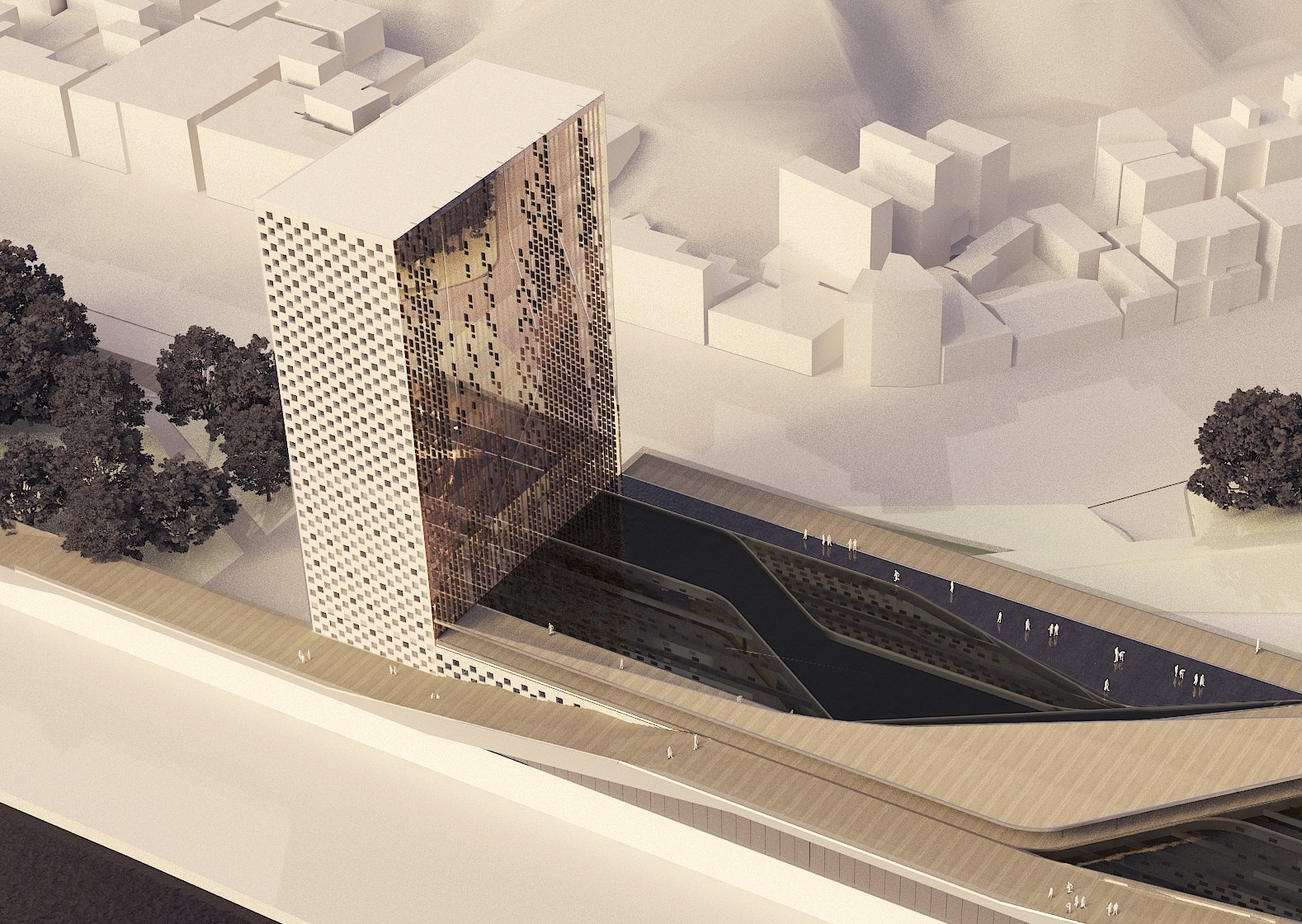Gallery of keelung new harbor service building competition for Acdf architecture