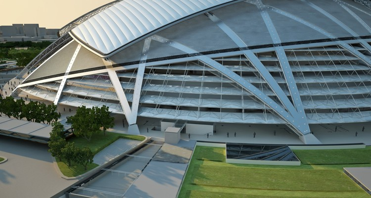 In Progress Singapore Sports Hub Arup Archdaily