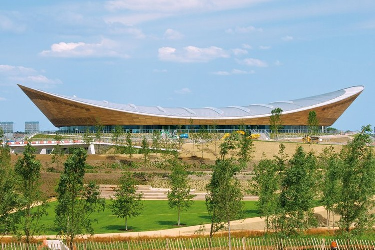 London 2012 Velodrome by Hopkins Architects / © Anthony Palmer